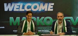 """Marko Jevtovic Atiker Konyaspor'da Marko Jevtovic: """"Büyük bir takımdan başka büyük bir takıma geldim"""" """"Kariyerimi geliştirmek istiyorum ve maçlara çıkmak için sabırsızlanıyorum"""""""