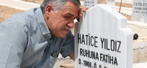 Türkiye bu sevgiyi konuşuyor Eşinin mezarında çektiği fotoğraflarla sosyal medyada tanınan Sivaslı Halil Yıldız'ın takipçi sayısı bir haftada 60 bini geçti