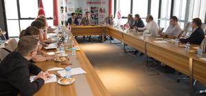 Türk-Alman Üniversitesi'nden AGÜ'ye ziyaret
