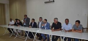 Günyüzü'nde Ak Parti danışma meclisi toplantısı yapıldı