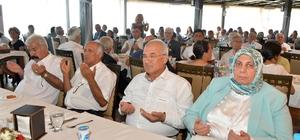 """Başkan Kocamaz, Kıbrıs gazileri ve şehit aileleriyle buluştu Mersin Büyükşehir Belediye Başkanı Burhanettin Kocamaz: """"Anavatan, Kıbrıs'tan hiçbir şekilde vazgeçemez"""""""