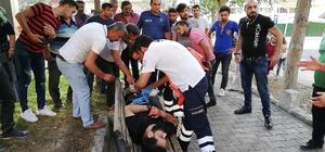 Oturduğu parkta tartıştığı kişilerce bıçaklandı
