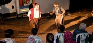 """""""Köy Seyirlik"""" oyunu Gülnar'da sahnelendi"""