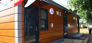 Dünya Tuvalet Birliğinin hibe ettiği tuvalet açıldı Yalova'ya 193 bin liralık tuvalet