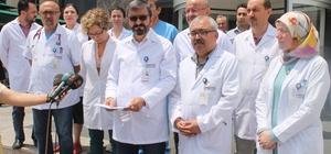 Hekimlerden sağlık çalışanlarına yapılan şiddete tepki