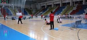 Görme engelli sporcular, Bolu'da kıyasıya mücadele etti Goalball 2. devre müsabakalarında şampiyonlar belli oldu