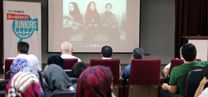 Savaşın çocukları gazeteci olup Türkiye'yi anlatacak