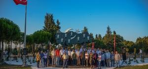 Karacabey'de 'şehitlik anıtı' dualarla açıldı