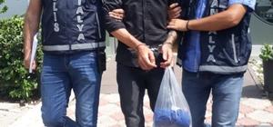 Antalya'da iş yeri hırsızı 2 hafta sonra yakalandı 3 ayrı suçtan aranma kaydı bulunan şahsın girdiği iş yerinden 5 bin lira değerinde tekstil ürünü çaldığı iddia edildi