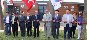 """Yalova'da """"193 bin liralık tuvalet"""" törenle açıldı"""