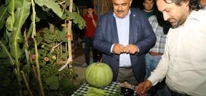 Başkan Özgüven'den hobi bahçeleri sakinleriyle buluştu