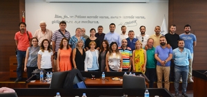 ÇAF Bulgar gazetecilere tanıtıldı