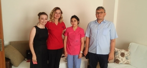 Korkuteli Devlet Hastanesine hastalardan teşekkür mesajı
