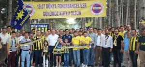 Gediz'de Dünya Fenerbahçeliler Günü coşkusu