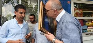 Başkan Ergün'ü duygulandıran ziyaret