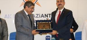 Adalet Bakanı Gül'den AK Parti Gaziantep İl Başkanlığı'na ziyaret