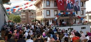 """Hayme Ana Hanımlar Konağı Tekkeköy'de açıldı Tekkeköy Belediye Başkanı Hasan Togar: """"En çok iş yapan ve en başarılı ilçe belediyesiyiz"""" """"Cenaze nakil aracı olmayan belediyeden, Türkiye'nin her yerine cenaze nakledebilecek bir belediye haline geldik"""""""