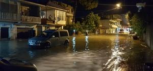 Kadirli'de şiddetli yağmur su baskınlarına neden oldu