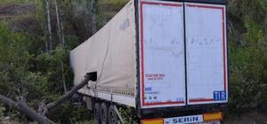 Tır kazası 1 yaralı Sivas'ın Akıncılar ilçesinde meydana gelen tır kazasında sürücü yaralandı