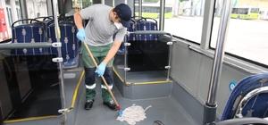 Kocaeli'de otobüsler nano teknoloji ile temizleniyor