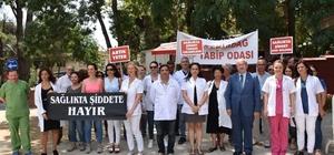 Başkan Albayrak'tan sağlıkçılara destek