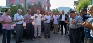 Bayırköy'de kutsal topraklara gidecek olan hacı adayları uğurlandı