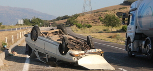 Manisa'da trafik kazası: 5 yaralı