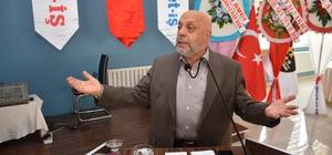 """HAK-İŞ ve HİZMET-İŞ Sendikası Genel Başkanı Arslan: """"Türkiye yedi düvele karşı mücadele ediyor"""""""