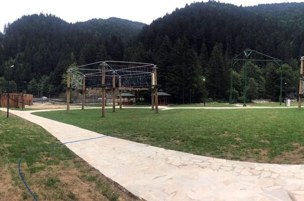 Uzungöl Tabiat Macera Parkı tamamlandı