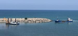 Alaplı Balıkçı Barınağı'nda tarama çalışmaları