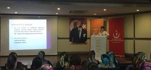 Toplum Sağlığı ve Kadın Konulu Seminer Düzenlendi
