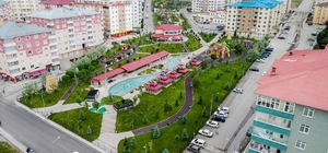 Palandöken Belediyesi 10 yılda 85'nci parkı açtı