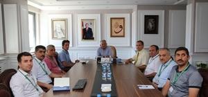 Melikgazi Belediyesi'nde Plan ve Proje Müdürlüğü toplantısı
