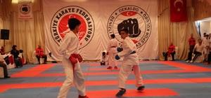 Uluslararası Dekai-do Karate Turnuvası Denizli'de başladı Turnuvaya 9 ülke ve 20 kentten 844 sporcu katıldı Turnuva yarın gerçekleştirilecek final karşılaşmaları ile sona erecek