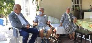 Başkan Seyfi Dingil'den hasta vatandaşlara moral ziyareti