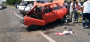 Kırşehir'de trafik kazası: 2 ölü, 4 yaralı