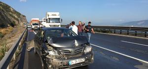 Anadolu Otoyolu'nda zincirleme trafik kazası