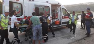 Gülümbe rampalarında kaza: 5 yaralı