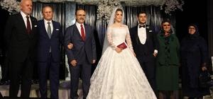 Samsun'da dillere destan düğün