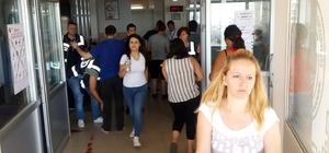 Tekirdağ'da KPSS heyecanı Bazı adaylar sınava son anda yetişti