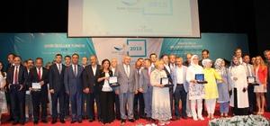 Şehir Ödülleri Türkiye 2018, İzmir'de sahiplerini buldu GTB, Coğrafi İşarette büyük ödülü Gaziantep'e getirdi