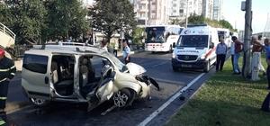 Ordu'da trafik kazası: 5 yaralı