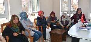 Fatma Çolakbayrakdar, Elmalı ve Bayramhacı Mahalleleri'ni ziyaret etti