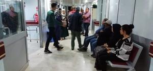 Kangal'da karın ağrısı ve ishal şikayetiyle hastaneye başvurular
