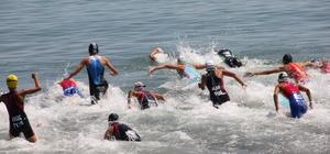 Ünye Triatlon Yarışları sona erdi