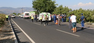 Aydın'da otomobille motosiklet çarpıştı: 3 ölü
