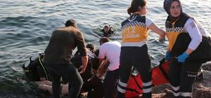 Kartal'da boğulma tehlikesi geçiren kişi kurtarıldı