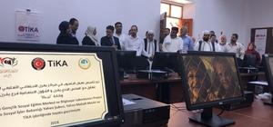 TİKA'dan Libya'ya eğitim desteği