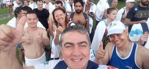 Aksoy, Boğaziçi kıtalararası yüzme yarışmasında dereceye girdi