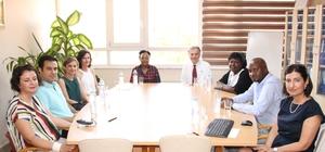 Kenya'dan gelen sağlık çalışanları Adana'da eğitim aldı